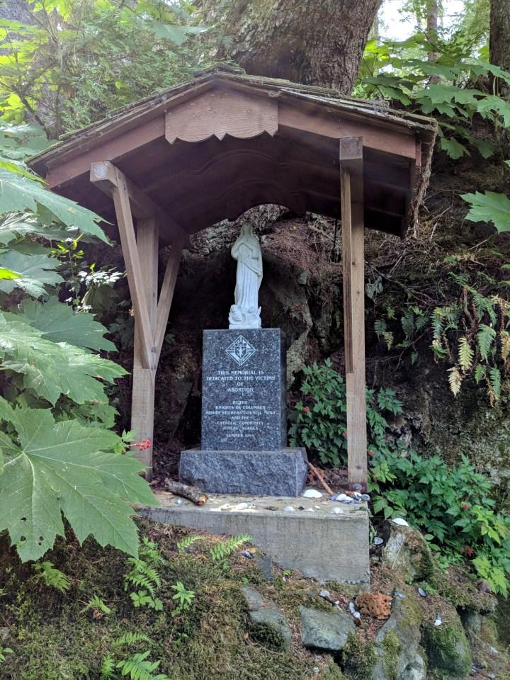 19 Saint Therese Shrine Alaska Victims of Abortion