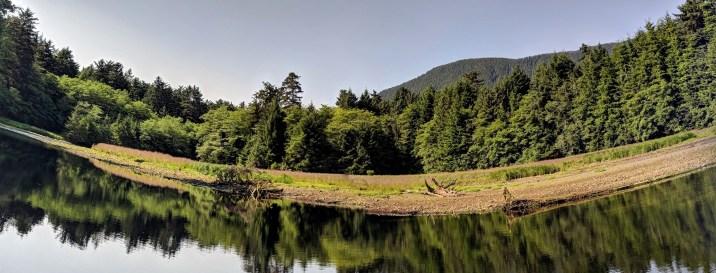 19 Sitka National Historic Park Indian River Panoramic Shot