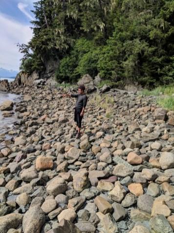 21 Tristan O'Bryan Kayaker's Beach Juneau Alaska