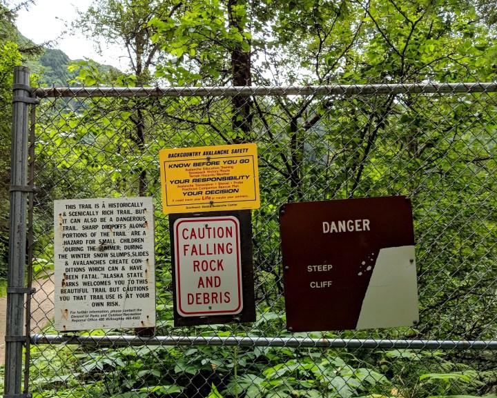 03 Perseverence Trail Mount Juneau Warning Signs.jpg