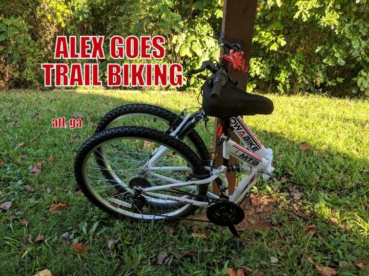Trail Biking at Clayton County Beach Park