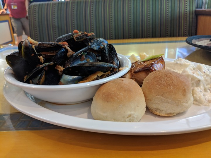 Carnival Magic Cruise Buffet Mussels.jpg
