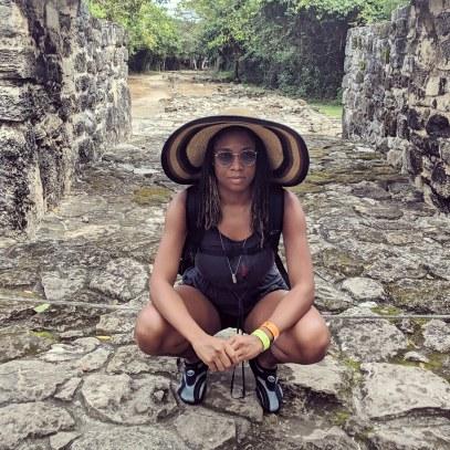 Alexis Chateau Mayan Ruins Mexico