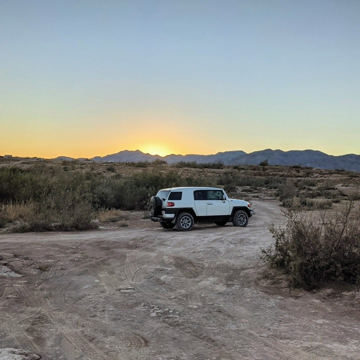 Exploring Nevada | Offroading in the Desert With an FJ Cruiser