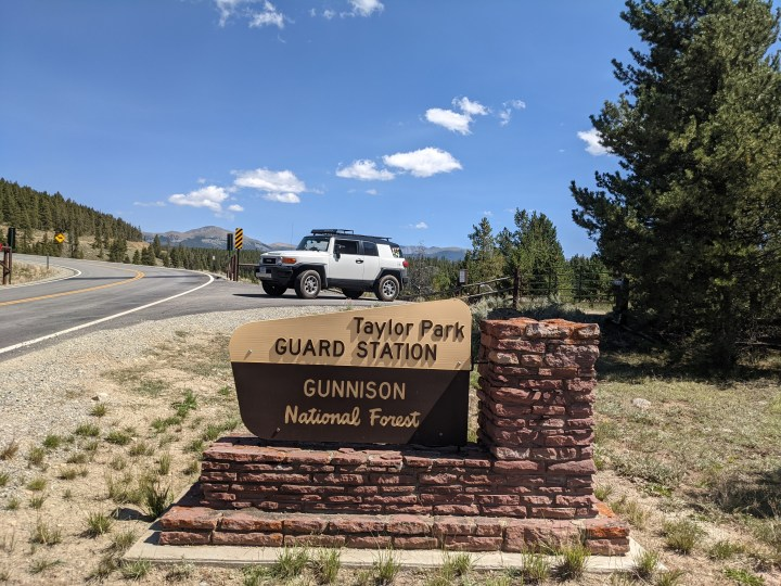 Wordless Wednesday | Offroading With the FJ Cruiser at Taylor Park in Gunnison National Forest