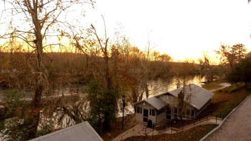 augusta-canal-at-sunset