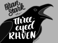 Three Eyed Raven - Letter Game of Thrones