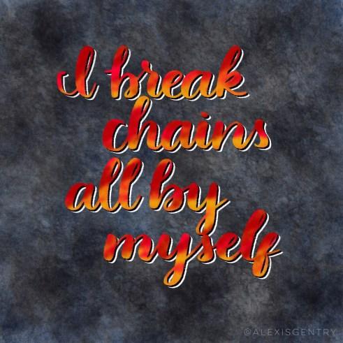 Beyonce - Lemonade - Freedom - I break chains all by myself