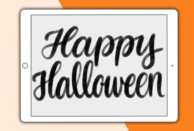 Happy Halloween - a new Procreate brush pack