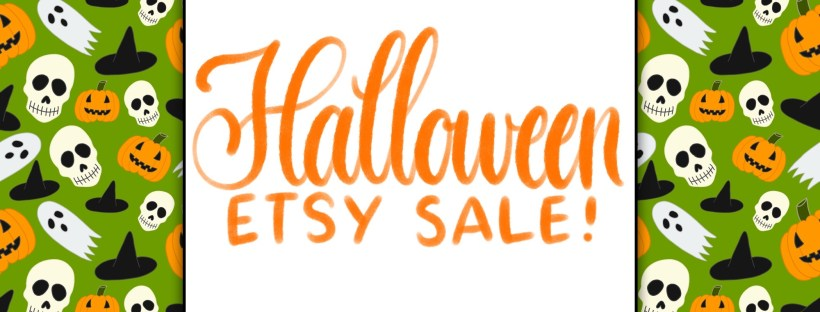Halloween brushes are on sale now at Etsy