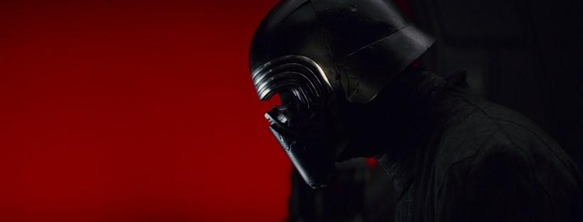Adan Driver as Kylo Ren in Star Wars Episode VIII: The Last Jedi
