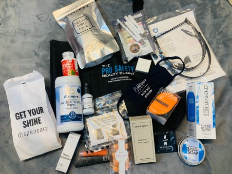 Pro-Safety Beauty Summit Gift Bag
