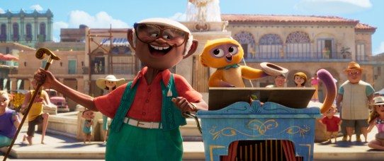 """Andrés and Vivo in Netflix and Sony Pictures Animation's """"Vivo"""""""