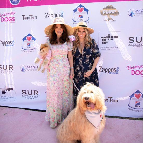 Lisa Vanderpump and her daughter, Pandora Vanderpump Sabo at the 5th Annual Vanderpump Dogs World Dog Day