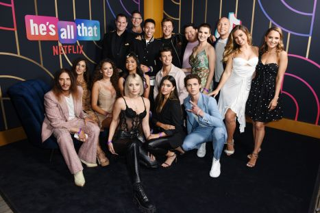 The cast of Netflix's He's All That at the Special Screening Event