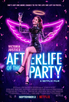 Victoria Justice in Netflix's Afterlife of the Party Movie Poster