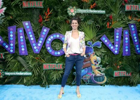 """Quiara Alegría Hudes at the special screening of """"Vivo"""" in New York City"""