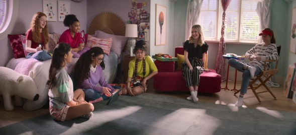 The cast of Netflix's The Baby-Sitters Club