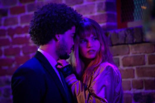 Debby Ryan and Jorge Lendeborg Jr. in Netflix's Night Teeth