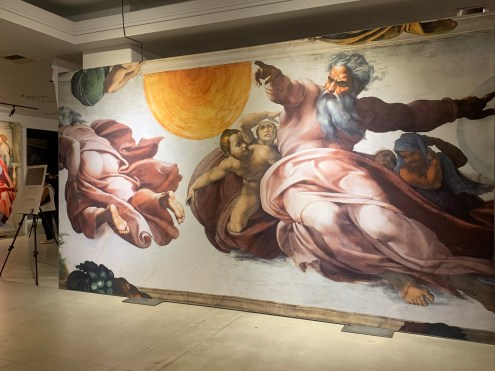 The Creation of the Sun, Moon and Earth at Michelangelo's Sistine Chapel: The Exhibition