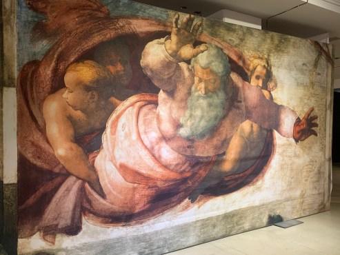 Genesis Fresco at Michelangelo's Sistine Chapel: The Exhibition
