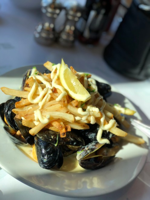 Mussel Fries w/ Garlic Aioli