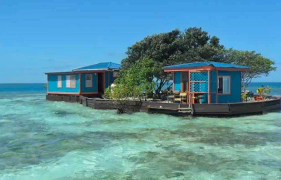 No solo los ricos pueden tener una isla privada en Belice