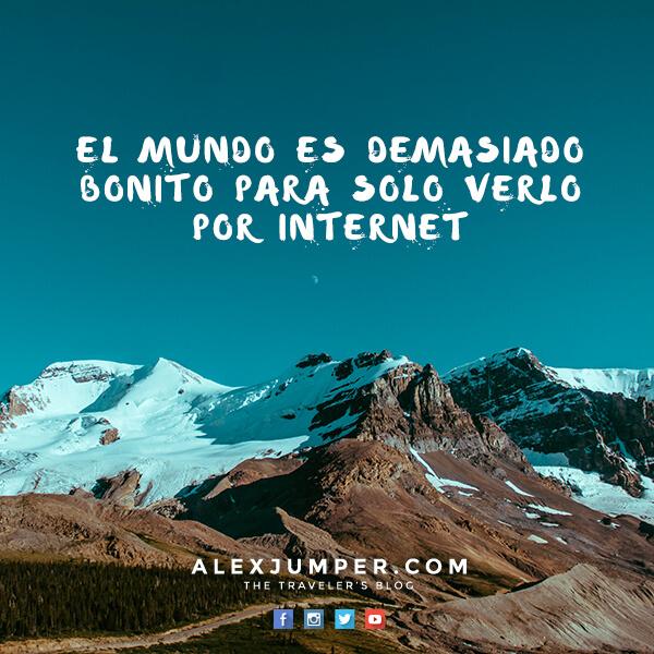 ver el mundo por internet