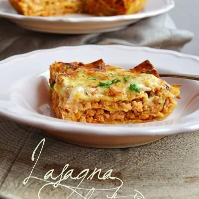 Lasagna la tigaie