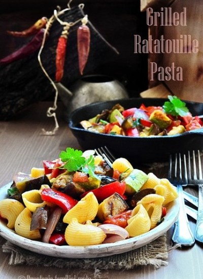 Grilled Ratatouille Pasta