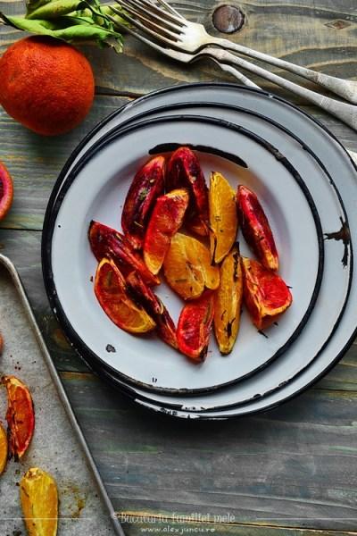 portocale rosii coapte