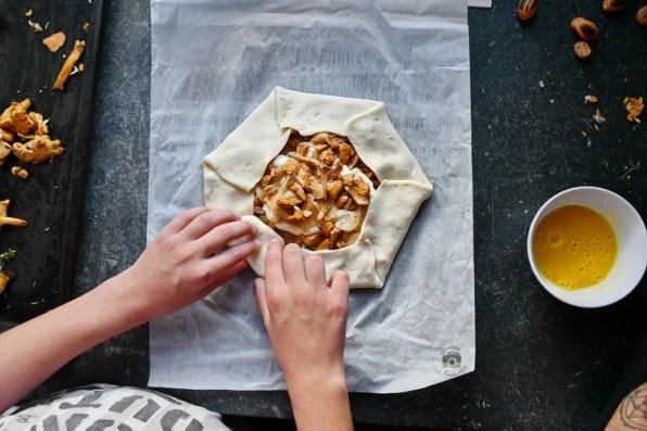 plăcintă cu gălbiori- Bucătăria familiei mele - Alex Juncu