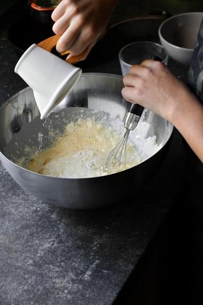 aluat Kaiserschmarrn - Bucătăria familiei mele - www.alexjuncu.ro