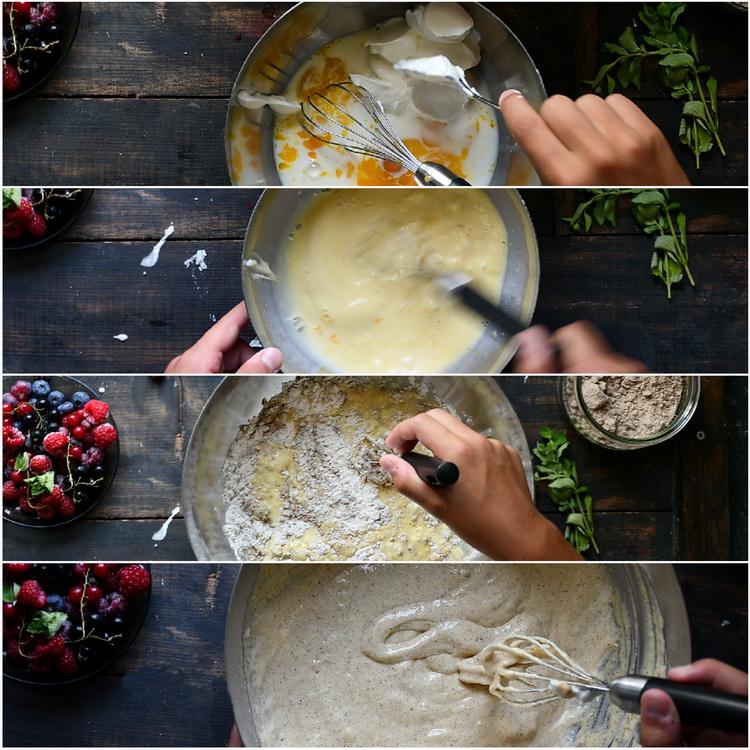 Aluat pancake - Bucătăria familiei mele - www.alexjuncu.ro