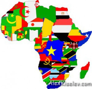 Africa-countries-flags