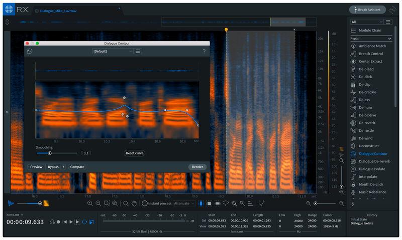izotope RX7 suite restauro audio
