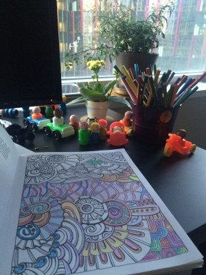 In Praise of the 30-Second Coloring Book Break