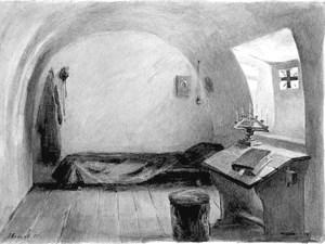 Комната воспитанницы Боголюбского женского монастыря