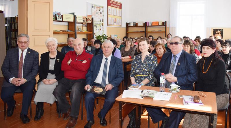 Творческая встреча в Центральной библиотеке Токарёвского района