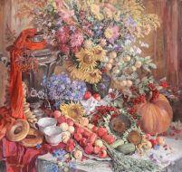 Праздник всех плодов. Бум., смеш. тех. 2007