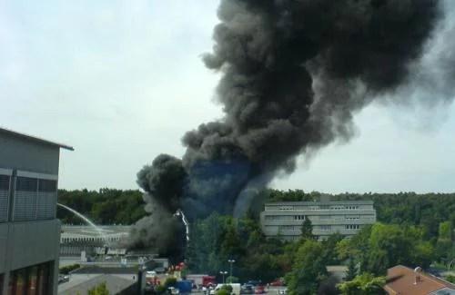 Explosion in Walldorf