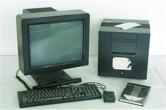 NeXT computer used as first World Wide Web server