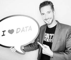 Alexander Loth with Tableau Data Rockstar t-shirt