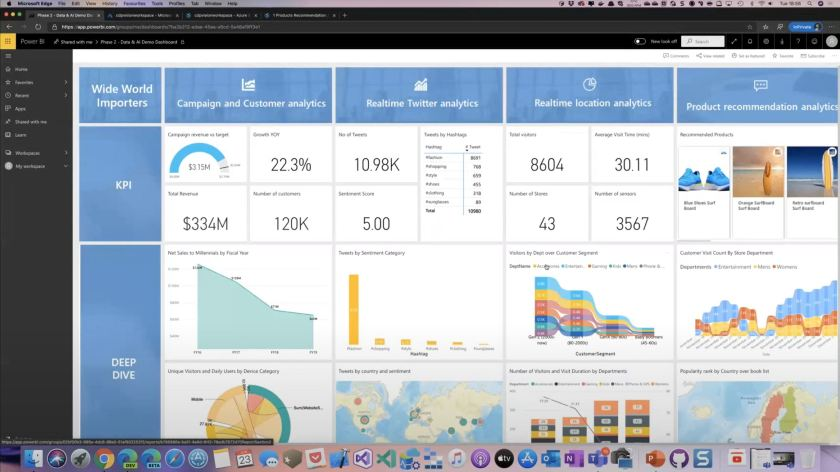 Azure Synapse Analytics Screenshot