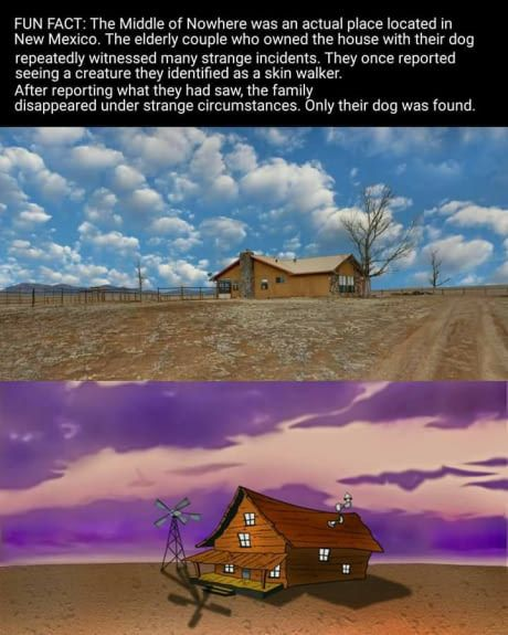 Courage The Cowardly Dog House : courage, cowardly, house, Skinwalker, Archives, Spooky, Stuff, Matsuo