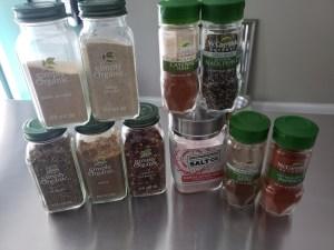 Ingredients - Homemade Taco Seasoning
