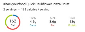 Nutrition - Quick Breadsticks & Pizza Crust