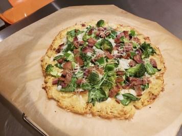 Final - Flourless Chicken Crust Pizza