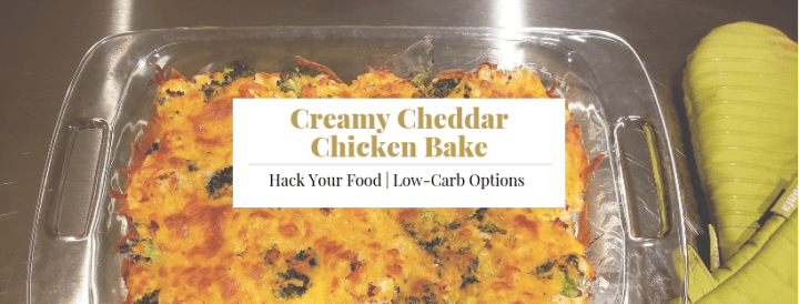 Creamy Cheddar Chicken Bake