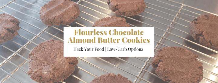 Flourless Chocolate Almond Butter Cookies